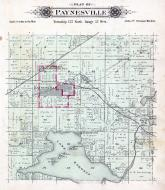 Paynesville Township, Lake Koronis, Rice Lake, Stearns County 1896 published by C.M. Foote & Co